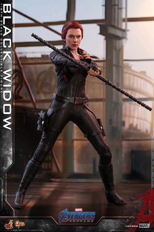 Movie Masterpiece End Game 1/6 Black Widow