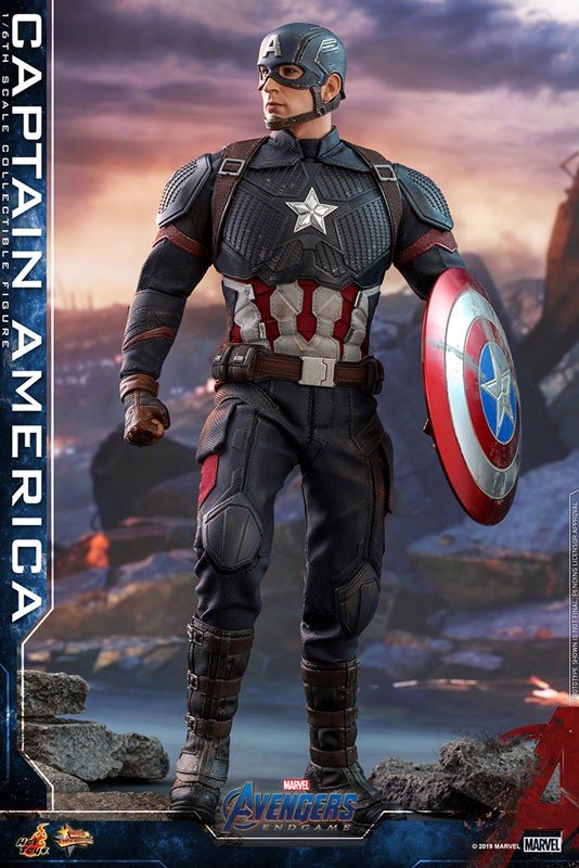 Movie Masterpiece End Game 1/6 Captain America