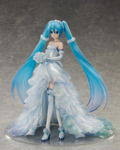 Character Vocal Series 01 Hatsune Miku Wedding Dress Ver. 1/7