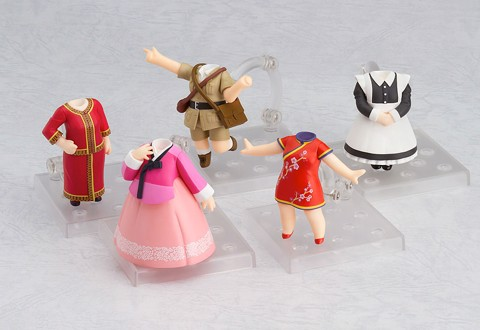Nendoroid More - Love Live! Sunshine!!: Dress Up World Image Girls Vol.
