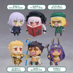 Learning with Manga! Fate/Grand Order Collectible Figures Episode 3 6Pack BOX