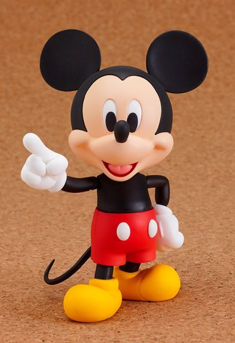 Nendoroid Mickey Mouse Pre-painted Posable Figure