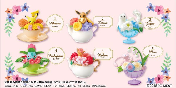Pokemon - Floral Cup Collection 6Pack BOX