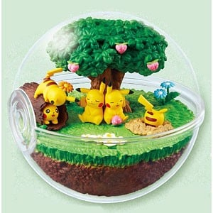 Pokemon Terrarium Collection DX -Hidamari no Mori no Pikachu-