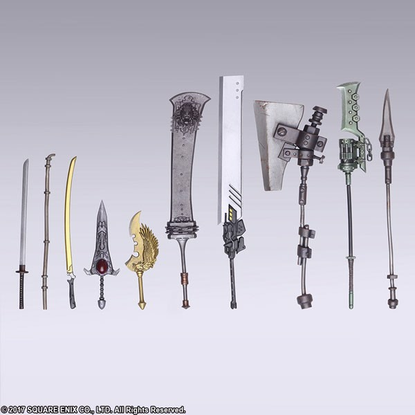 NieR: Automata BRING ARTS Trading Weapon Collection 10Pack BOX