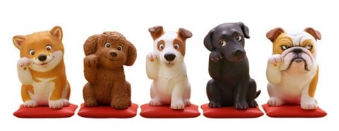 miniQ Miniature Cube Kunio Satou's Shoufuku Dog 8Pack BOX