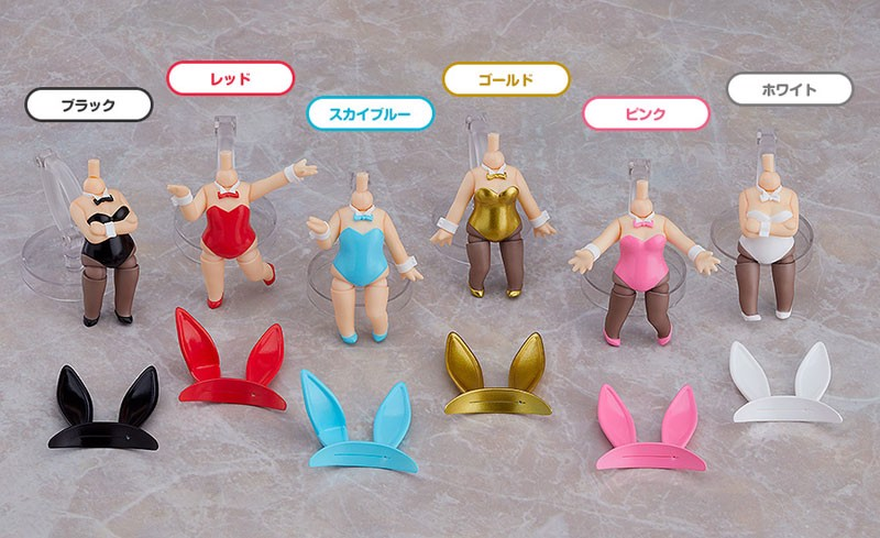 Nendoroid More Dress Up Bunny 6Pack BOX