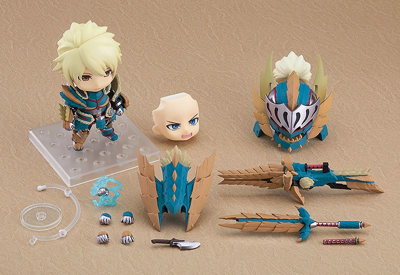 Nendoroid Monster Hunter World: Iceborne Male Hunter Zinogre Alpha Ver. DX
