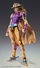 Super Action Statue JoJo's Bizarre Adventure Part.7 Steel Ball Run Gyro Zeppeli Ver. 1.5