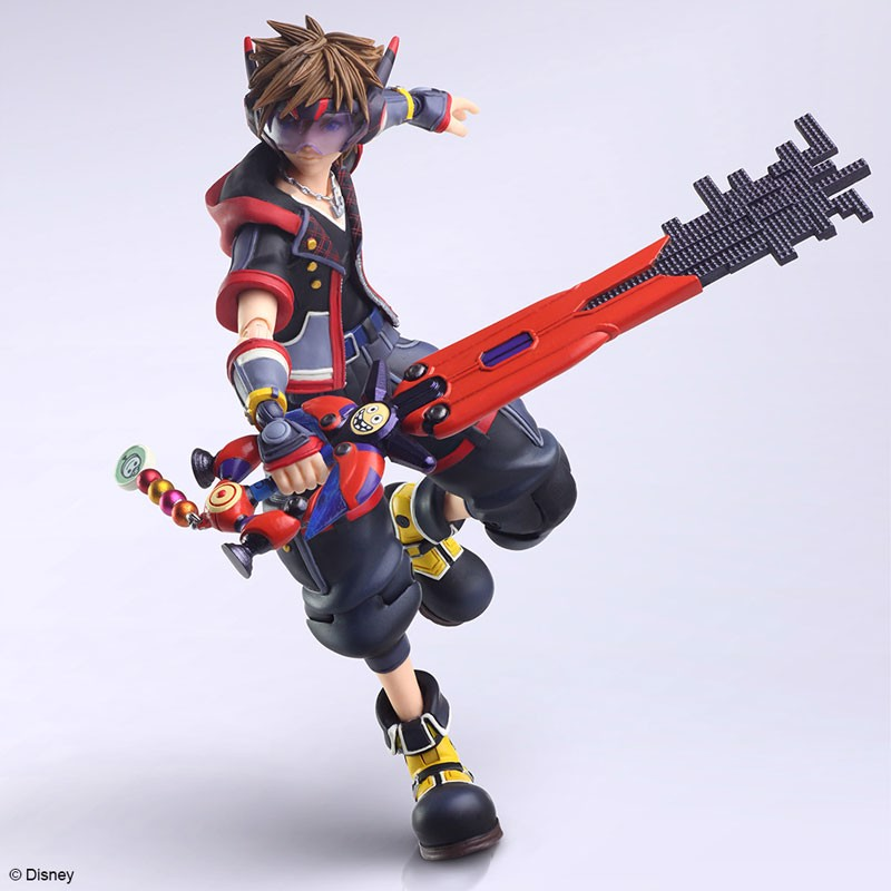 KINGDOM HEARTS III BRING ARTS Sora Version 2 Action Figure