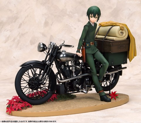 ARTFX J - Kino no Tabi -the Beautiful World- the Animated Series: Kino First Press Bonus Bundled Edition 1/10
