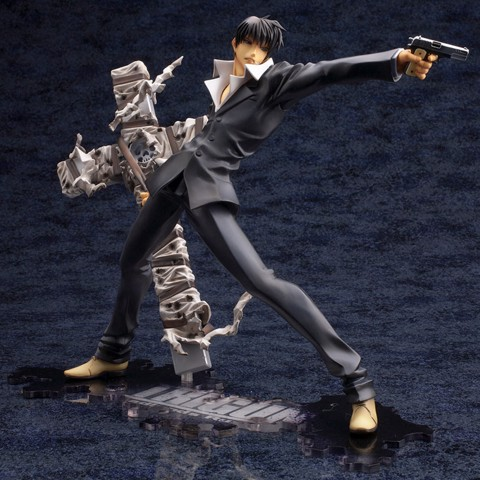 ARTFX J Movie Trigun Badlands Rumble Nicholas D. Wolfwood Renewal Package ver. 1/8