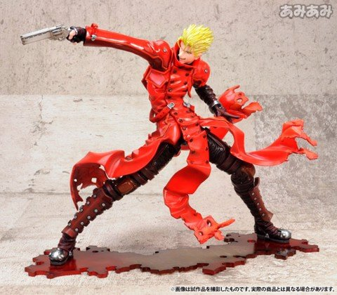 ARTFX J Movie Trigun Badlands Rumble Vash the Stampede Renewal Package ver. 1/8