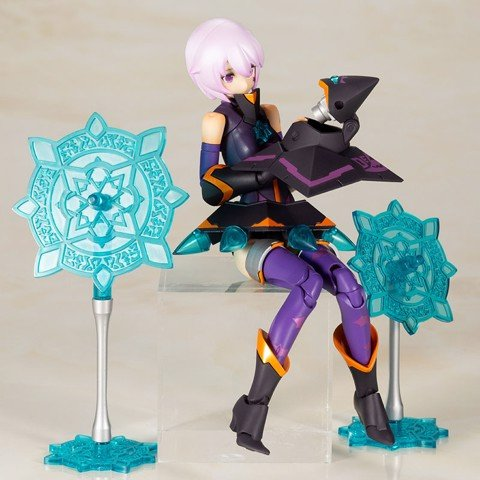 Megami Device Chaos & Pretty Witch DARKNESS Plastic Model