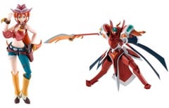 S.H.Figuarts Elsha Lean + Robot Spirits [SIDE BH] Briheight Gigan Set