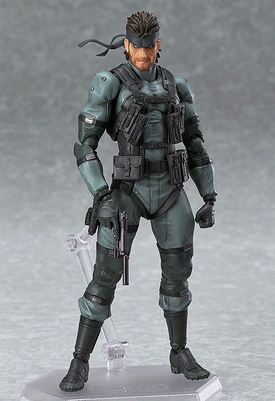 figma - Metal Gear Solid 2 Sons of Liberty: Solid Snake MGS2 ver.