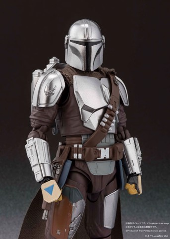 S.H.Figuarts The Mandalorian (Besker Metal Armor Version) (STAR WARS: The Mandalorian)