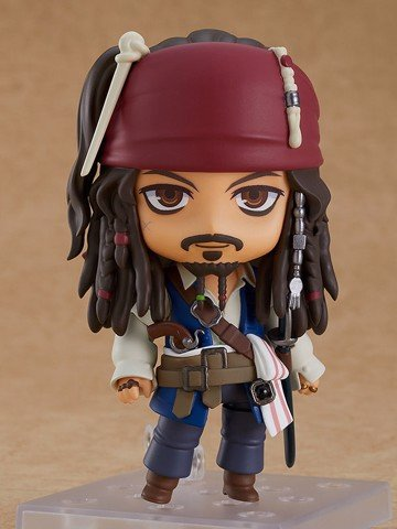 Nendoroid Pirates of the Caribbean: On Stranger Tides Jack Sparrow