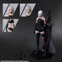 NieR:Automata PLAY ARTS Kai [YoRHa Model A No. 2 DX Ver.]