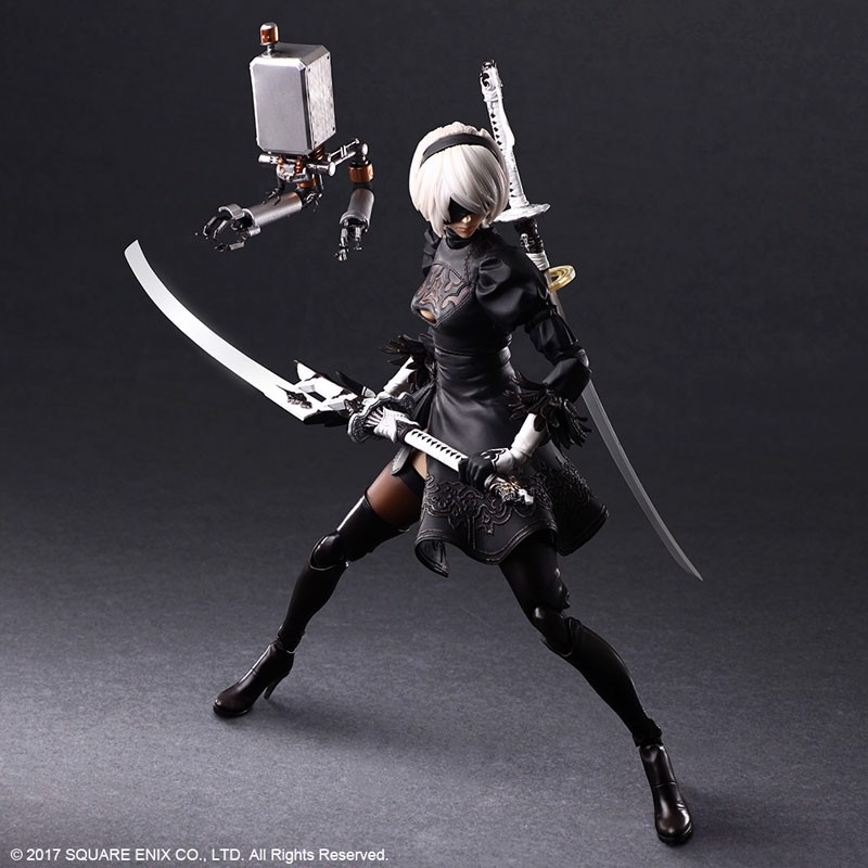 NieR:Automata PLAY ARTS Kai [YoRHa No.2 Type B DX Edition]