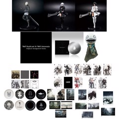 NieR Game Series 10th Anniversary Commemoration Kuji 1 Set (70 Prizes + 1 Last One Prize)