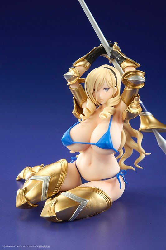 Walkure Romanze Celia Episode 10 End Card ver. AmiAmi Exclusive Gold 1/7
