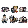 Rubber Mascot Buddy Colle Demon Slayer: Kimetsu no Yaiba Vol.2 6Pack BOX