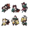 Rubber Mascot Buddy Colle Demon Slayer: Kimetsu no Yaiba 6Pack BOX