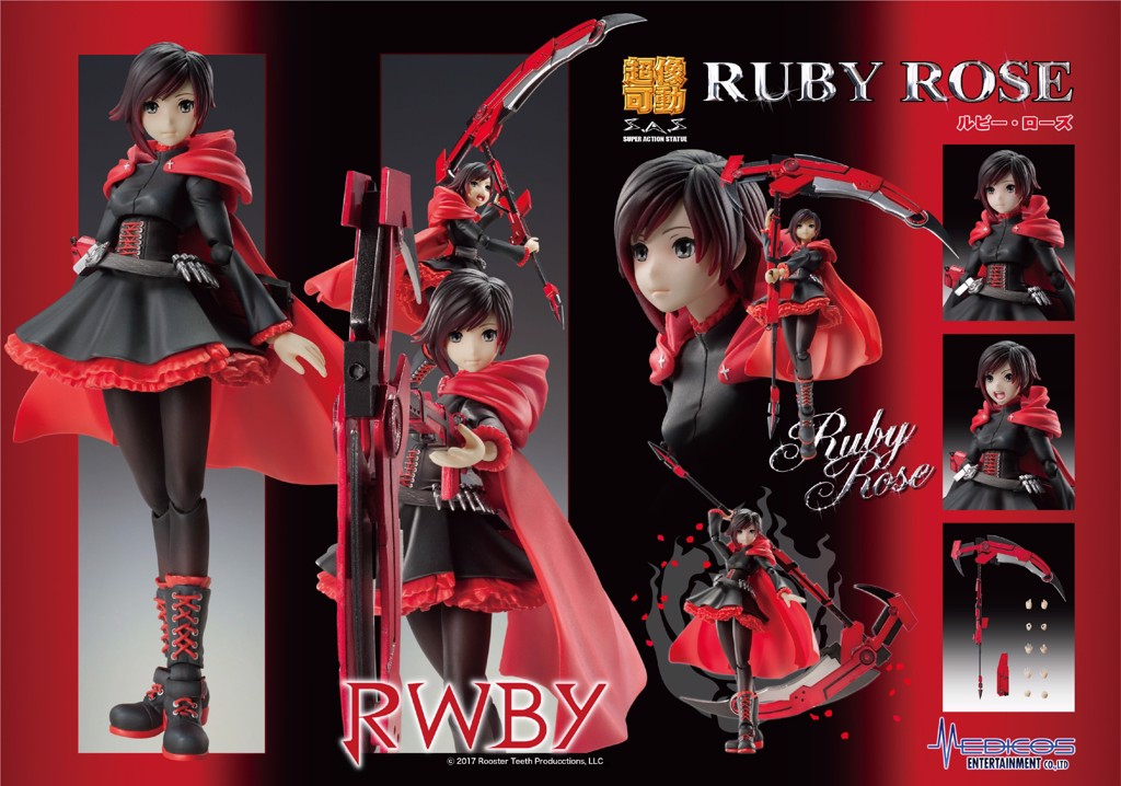 RWBY - Ruby Rose - Super Action Statue (Medicos Entertainment)