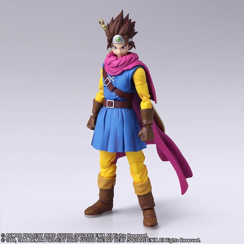 Dragon Quest III: The Seeds of Salvation BRING ARTS Hero Action Figure