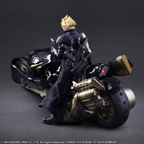 Play Arts Kai - Final Fantasy VII ADVENT CHILDREN: Cloud Strife & Fenrir