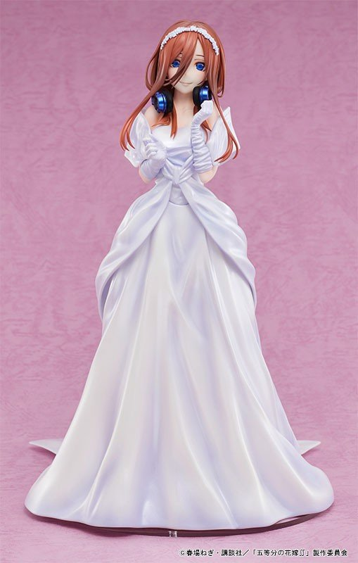 The Quintessential Quintuplets 2 Miku Nakano Wedding Ver. 1/7