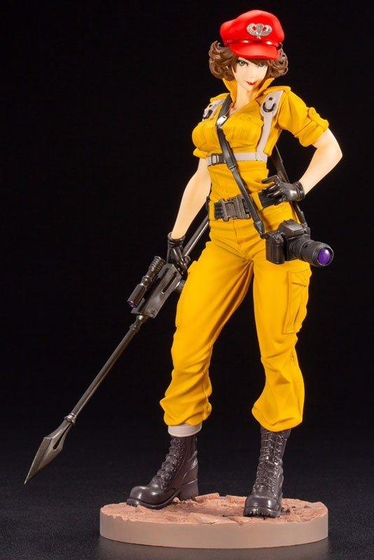 G.I. JOE Bishoujo Lady Jaye Canary Ann Color Limited Edition 1/7 Complete Figure