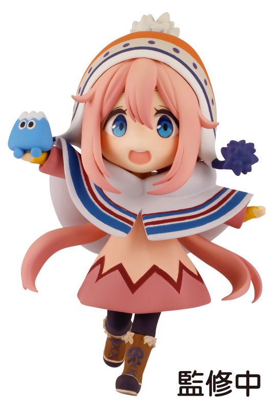 Yuru Camp Nadeshiko Kagamihara Mini Figure