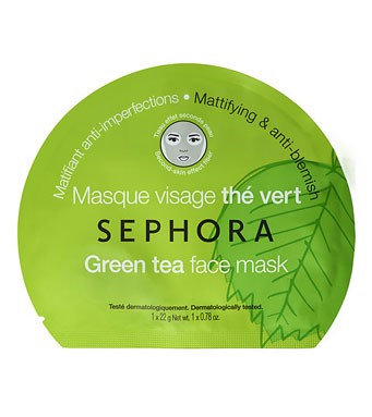 Mặt nạ Sephora Green Tea Invisilk Mask