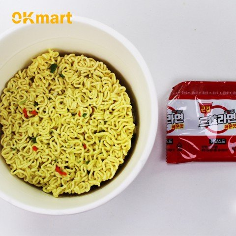 Mì cay samyang (ly) / [삼양]삼양라면 컵 65G