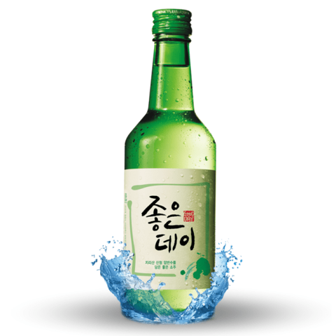 Rượu Soju Good day (무학) 좋은데이 360ml