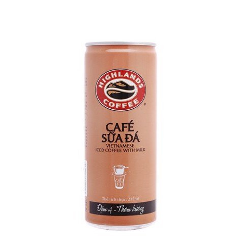 크림커피/ Cafe sữa đá Highlands Coffee 235ML