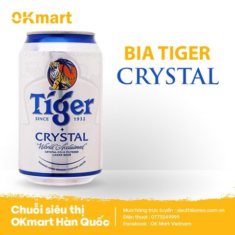 Tiger Bạc Crystal