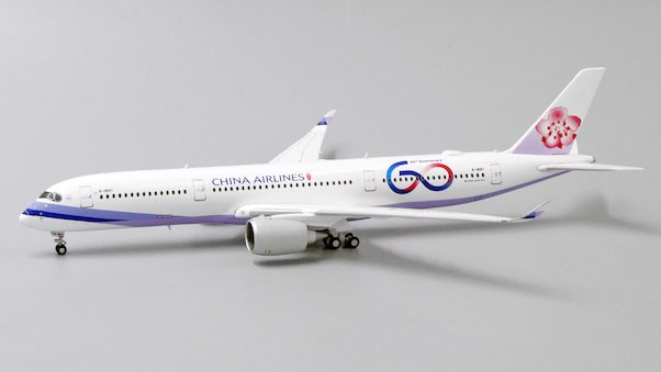 Mô Hình Máy Bay China Airlines Airbus A350-900 B-18917 60th Anniversary | JC Wings 1:400