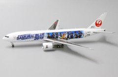 Mô Hình Máy Bay Japan Airlines Boeing 777-200 JA8979 Samurai Blue | JC Wings 1:400