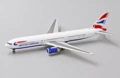 Mô Hình Máy Bay British Airways Boeing 767-300 G-BZHA | JC Wings 1:400