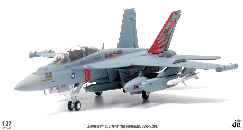 Mô Hình Máy Bay United States Navy EA-18G Growler NF500 | JC Wings 1:72