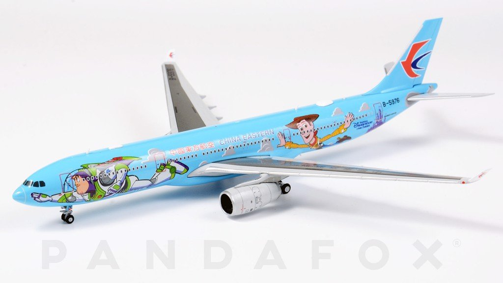 Mô Hình Máy Bay China Eastern Airbus A330-300 B-5976 Toy Story | JC Wings 1:400