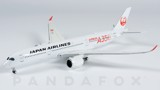 Mô Hình Máy Bay Japan Airlines Airbus A350-900 JA01XJ Red Titles | JC Wings 1:400