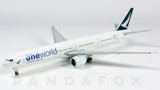 Mô Hình Máy Bay Cathay Pacific Boeing 777-300ER B-KQI One World | JC Wings 1:400