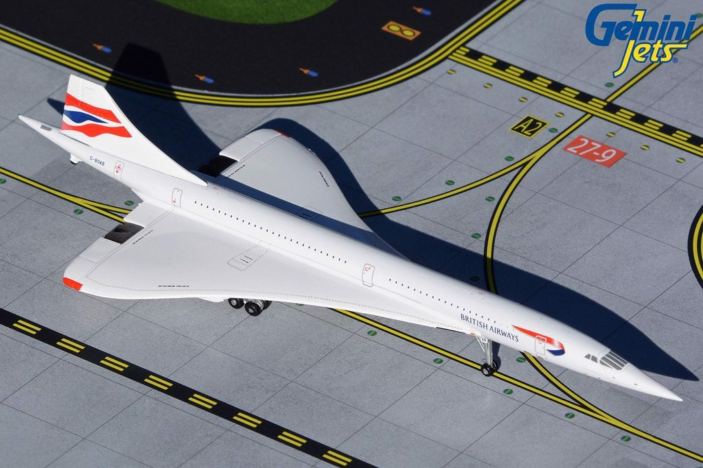 British Airways Concorde G-BOAB GeminiJets 1:400 GJBAW1946