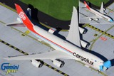 Cargolux Boeing 747-8F Interactive LX-VCF Not Without My Mask GeminiJets 1:400 GJCLX1954