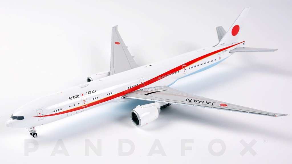 Mô Hình Máy Bay Japan Air Self-Defense Force Boeing 777-300ER 80-1111 | GeminiJets 1:400
