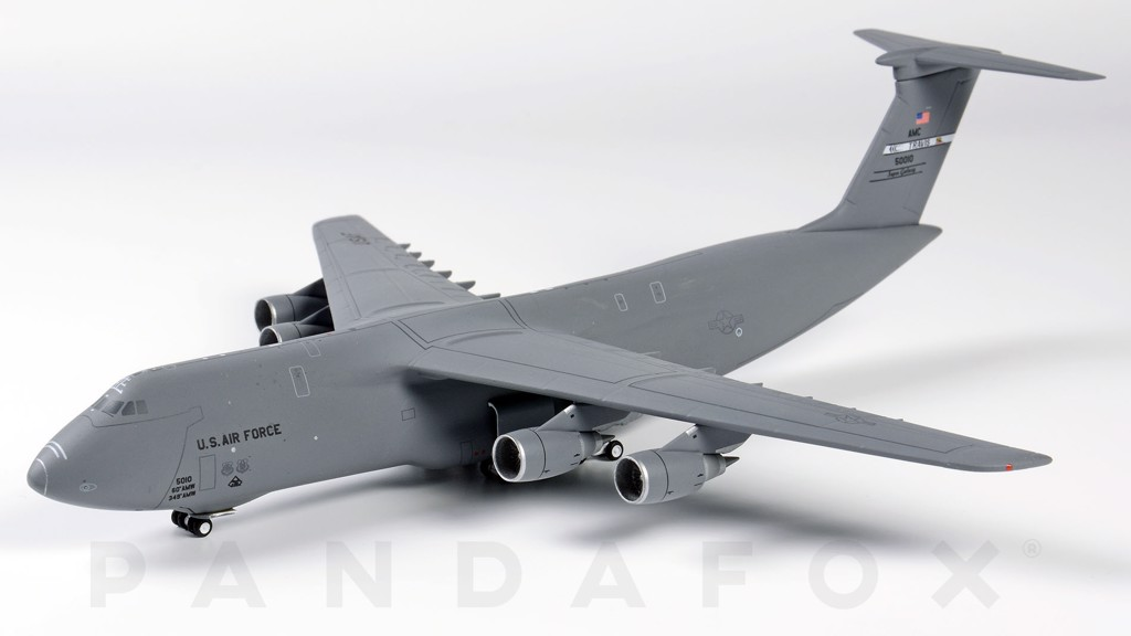 Mô Hình Máy Bay United States Air Force Lockheed C-5M 50010 Travis AFB | GeminiJets 1:400